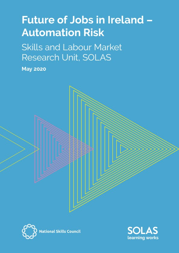 Future of Jobs in Ireland – Automation Risk